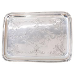 Silver Serving Plate, Vienna, circa 1920s