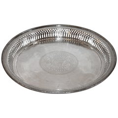 Silver Serving Tray, 800 Silver