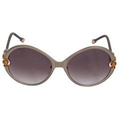 Shamballa Silver Divinity Round Sunglasses