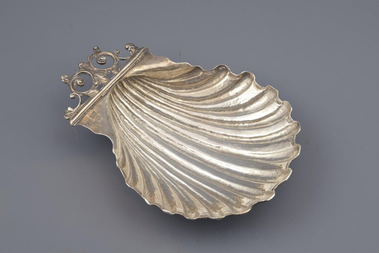 Scallop. Silver in its color. Diego Rodríguez de Lezana or Lizana and Bartolomé González. Toledo, Spain, circa mid-18th century.