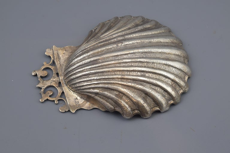 Spanish Silver Shell, Toledo, Spain, circa Mid-18th Century For Sale