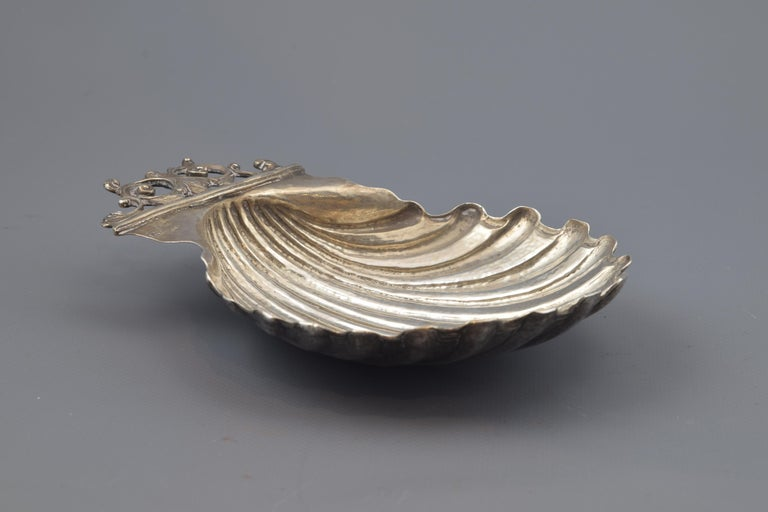Silver Shell, Toledo, Spain, circa Mid-18th Century For Sale 1