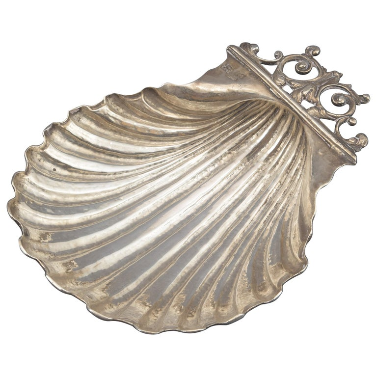 Silver Shell, Toledo, Spain, circa Mid-18th Century For Sale