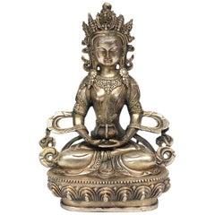 Silver Tibetan White Tara
