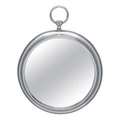 Silver Vintage Pocket Watch Mirror