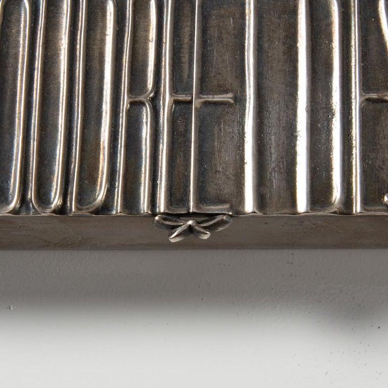 Mid-20th Century Silvered Bronze Box