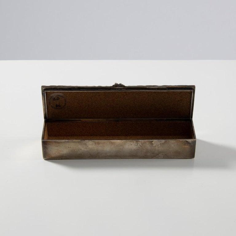Silvered Bronze Box