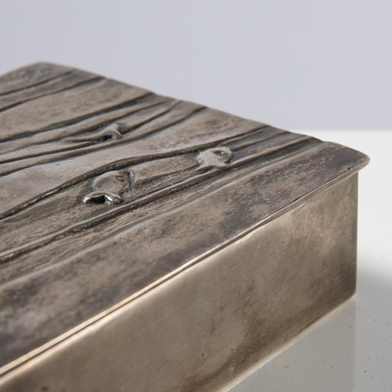 Silvered Bronze Box