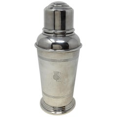 Silver Plate English Cocktail Shaker, Goldsmiths & Silversmiths Company