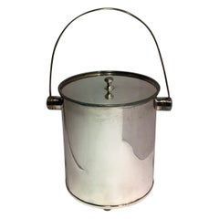 Silverplate Ice Bucket with Handle