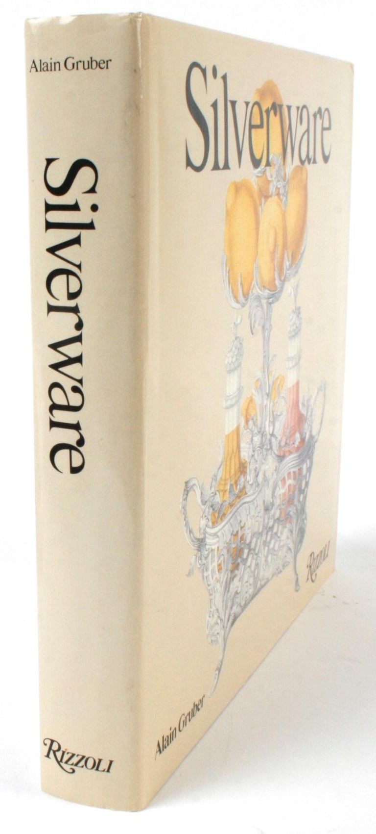 Silverware by Alain Gruber, First Edition Book For Sale 13