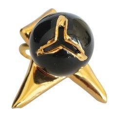 Silvia Guarnieri Black Porcelain Berrie Ring