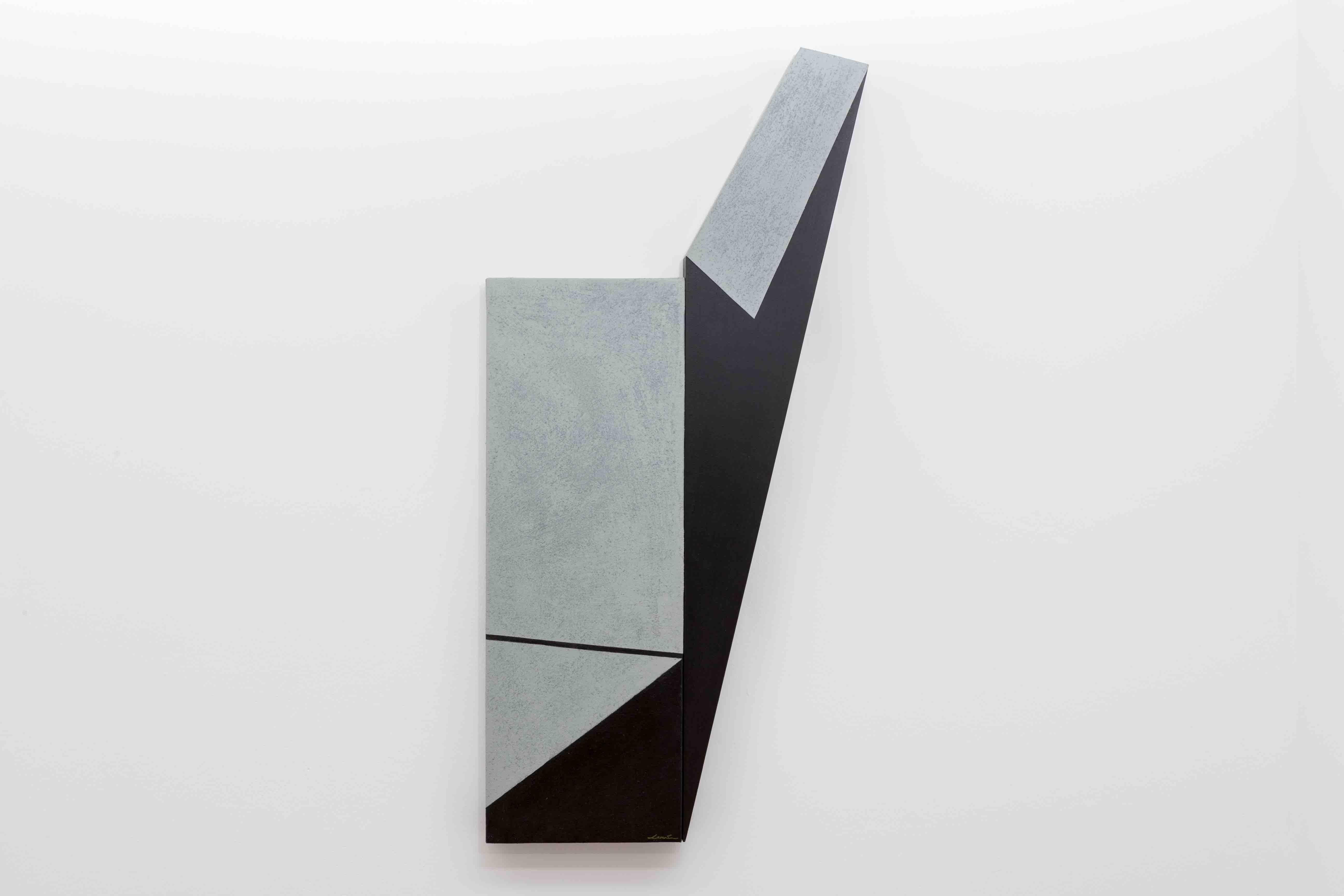 Fissure and Crease (Series Irregulars II) by Spanish artist, Silvia Lerin