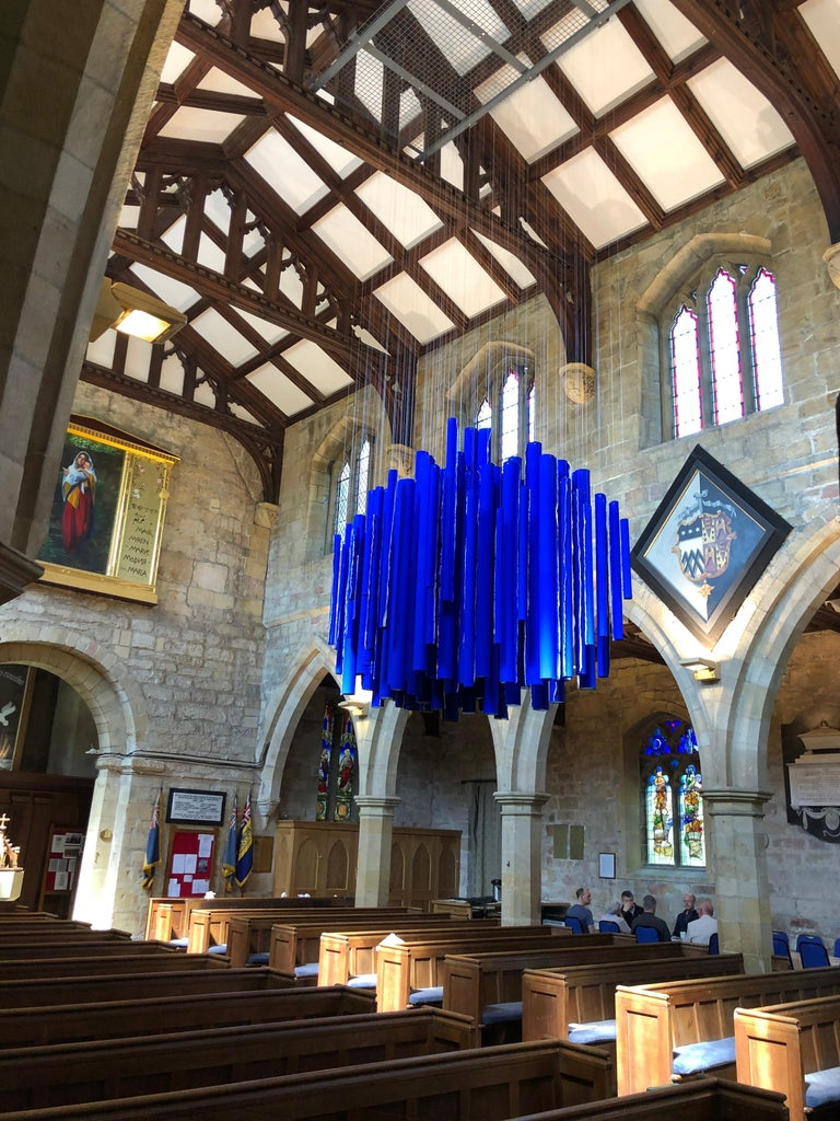 Neons from Heaven: Hanging Sculptural Installation by Silvia Lerin For Sale 6