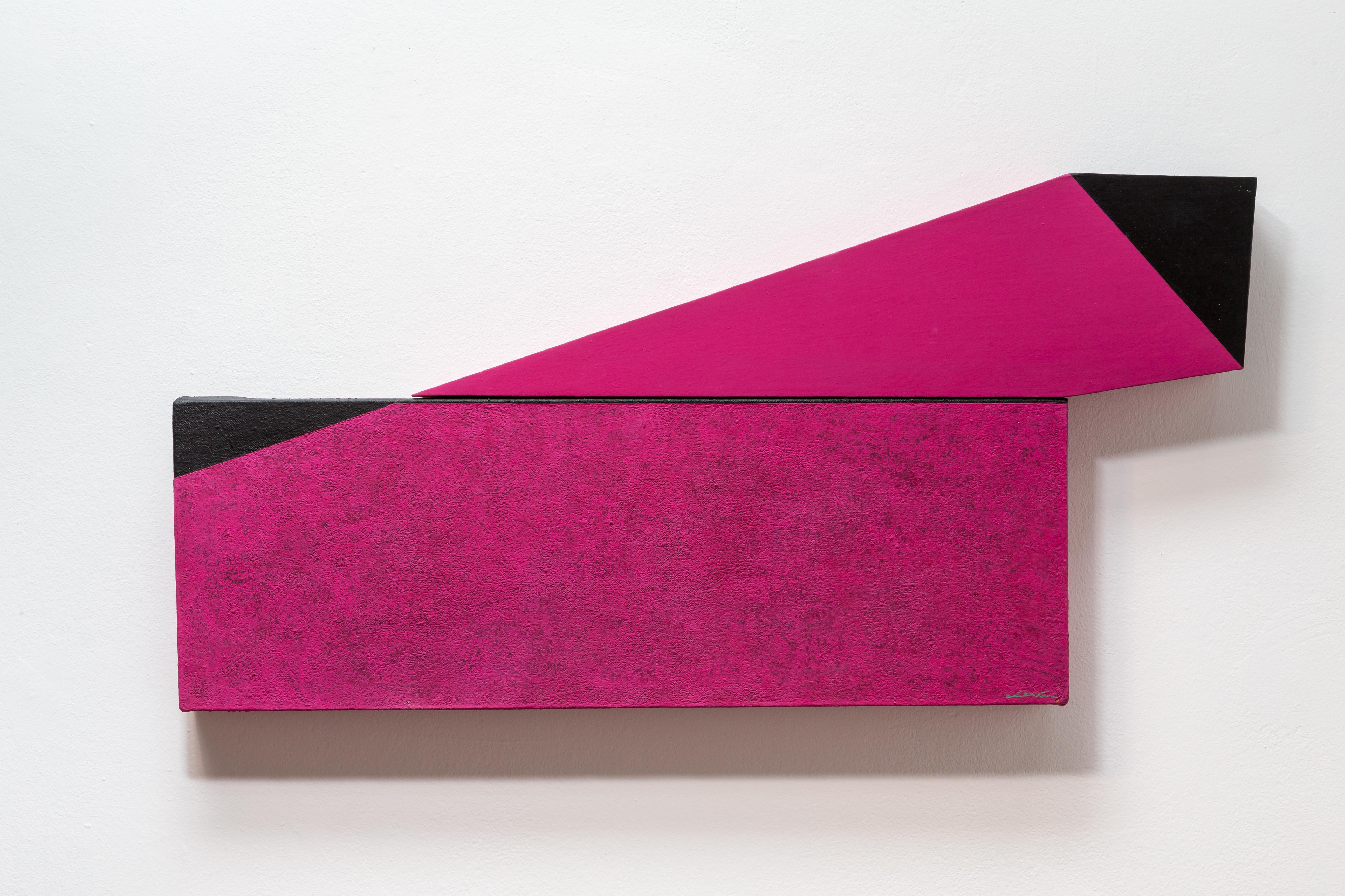 Projected Magenta (Series Irregulars II) by Spanish artist, Silvia Lerin