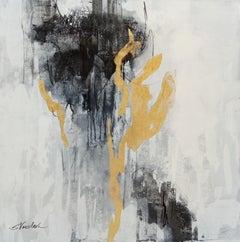 Golden Rain II, Painting, Acrylic on Canvas