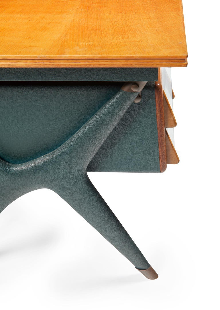 Silvio Berrone, Desk from the Bialetti Building, 1955–1956 For Sale 6