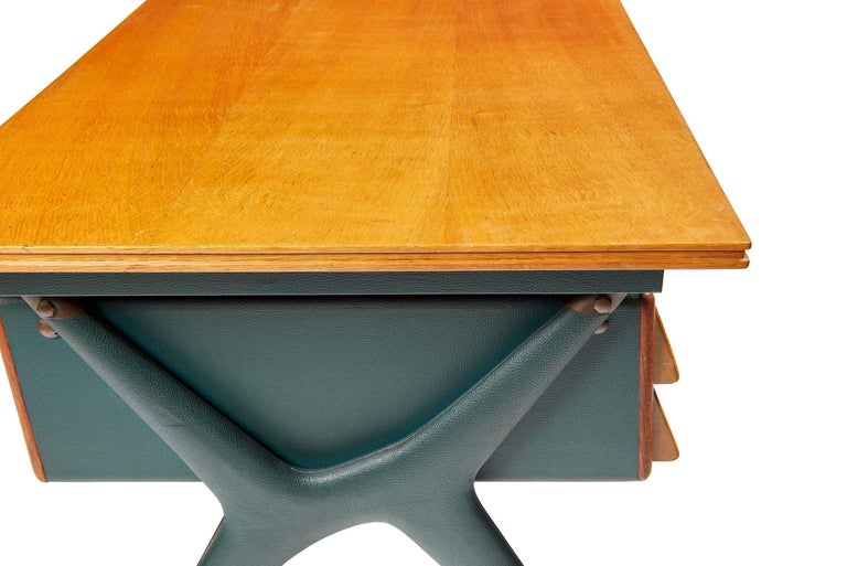 Silvio Berrone, Desk from the Bialetti Building, 1955–1956 For Sale 10