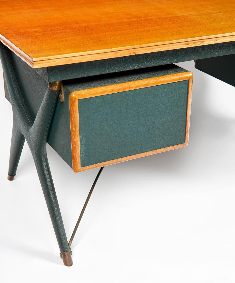 Silvio Berrone, Desk from the Bialetti Building, 1955–1956 For Sale 12