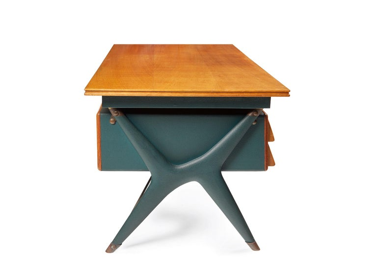 Mid-20th Century Silvio Berrone, Desk from the Bialetti Building, 1955–1956 For Sale