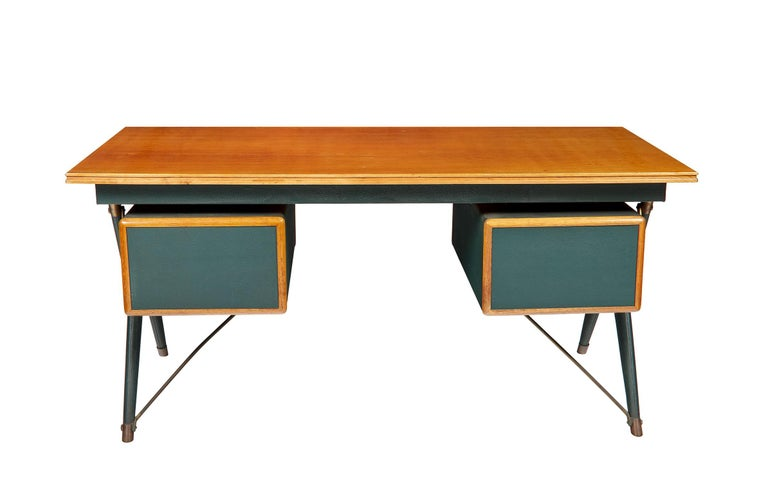 Silvio Berrone, Desk from the Bialetti Building, 1955–1956 For Sale 1