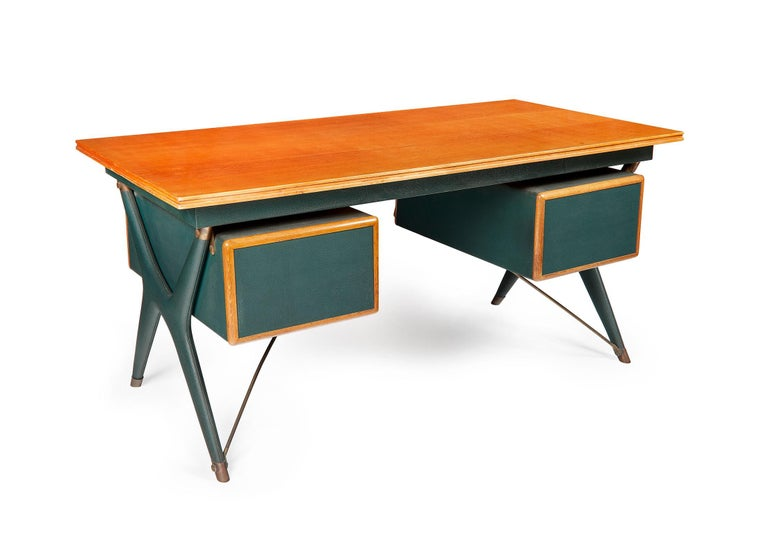 Silvio Berrone, Desk from the Bialetti Building, 1955–1956 For Sale 2