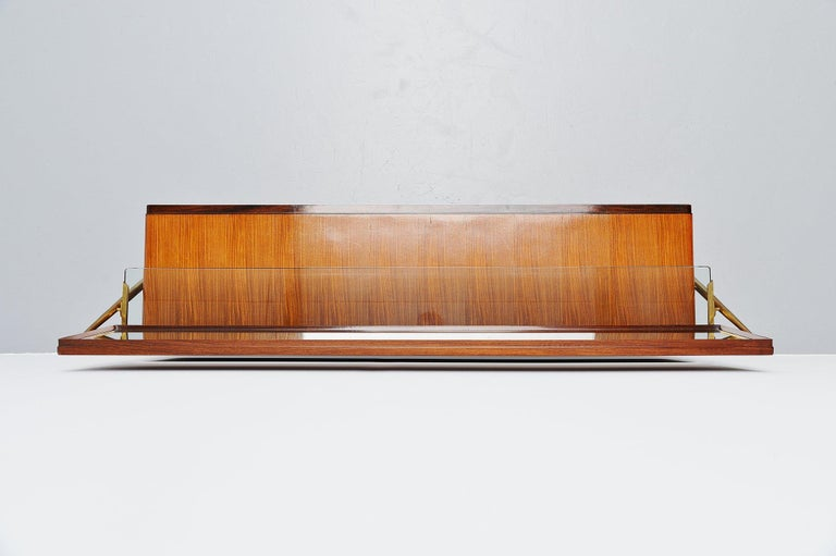 Silvio Cavatorta Mirror Sideboard, Italy, 1958 In Good Condition For Sale In Roosendaal, Noord Brabant