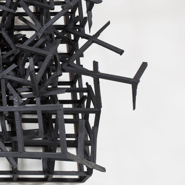 Untitled - Brown Figurative Sculpture by Simon Bilodeau