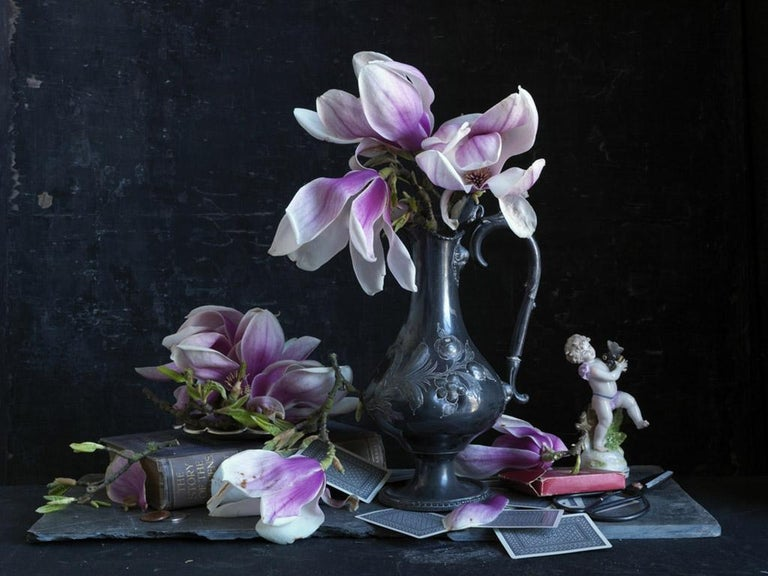 Simon Brown Color Photograph - Still Life (Flowers)