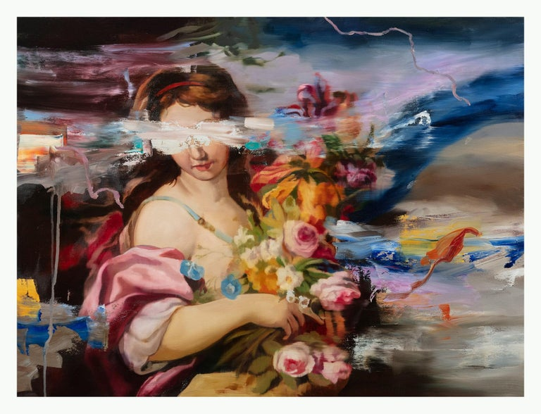 Simon Casson Figurative Painting - Falderals I
