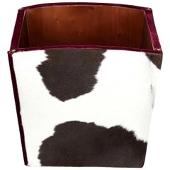 Simon Cowhide Container