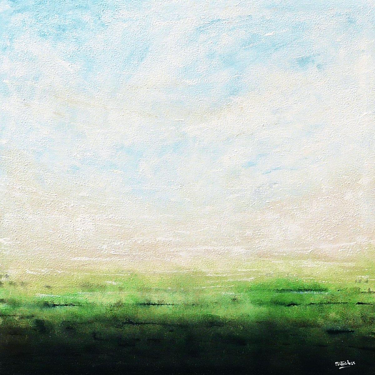 Spring Dawn II, Painting, Acrylic on Canvas