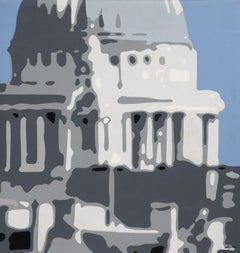 St Paul's, Painting, Acrylic on Canvas