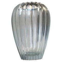 Simon Gate Triton Crystal Vase for Orrefors, 1916-1920