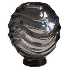 Simon Gate, Vase, Blown Glass, Orrefors, Sweden, 1930s