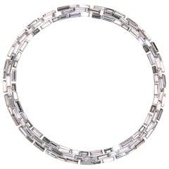 Simon Harrison Caddis Multi Short Baguette Necklace