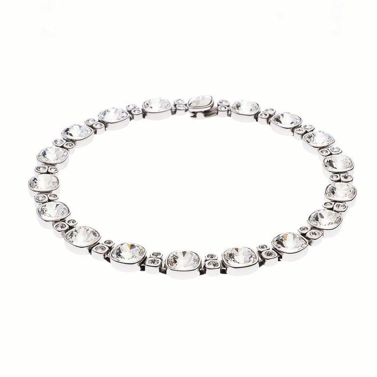 Women's Simon Harrison Crystal Lauren Necklace For Sale