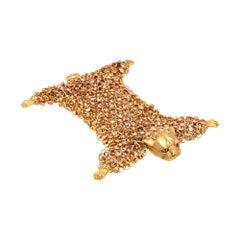 Simon Harrison Dionysus Leopard Gold Bracelet