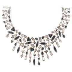 Simon Harrison Galaxy & Stars Crystal Necklace