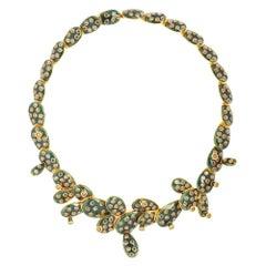 Simon Harrison Gold Kahlo Necklace