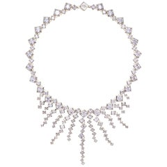Simon Harrison Icicle Sterling Silver Necklace