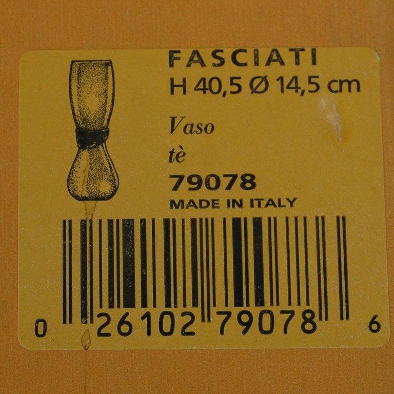 Simon Moore for Salviati, Large Fasciati Glass Vase 7