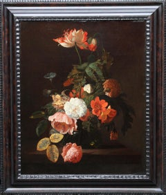 Dutch Golden Age Floral - Old Master art 17th century flower oil painting