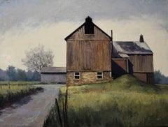 Pennsylvanian Sharecropping (barn, landscape)