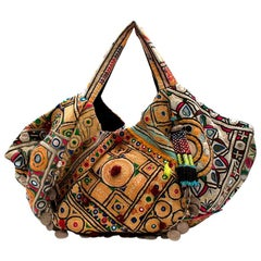 Simone Camille Multi-coloured Embellished Shoulder Bag