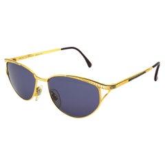 Simonetta Ravizza golden cat eye sunglasses