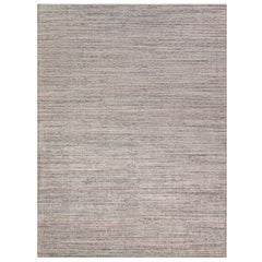 Simplicity Pink Turquoise Contemporary Handwoven Rug  9'2 x 12'