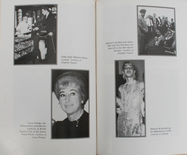 Simply Halston, The Untold Story by Steven Gaines, Signed First Edition For Sale 2