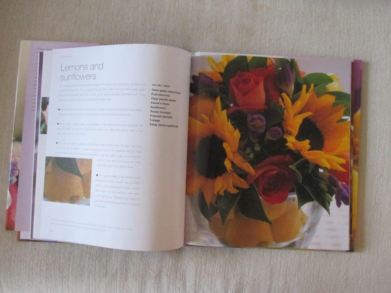 Simply Stylish Flowers Hardcover book