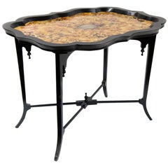 Simulated Tortoise Shell Table